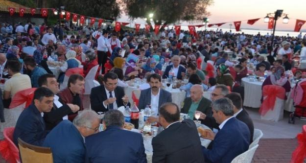 Kürtünlülerin dev iftarına dev katılım