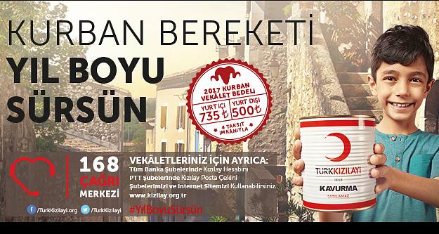 Türk Kızılayı: Kurban Bereketi Yıl Boyu Sürsün