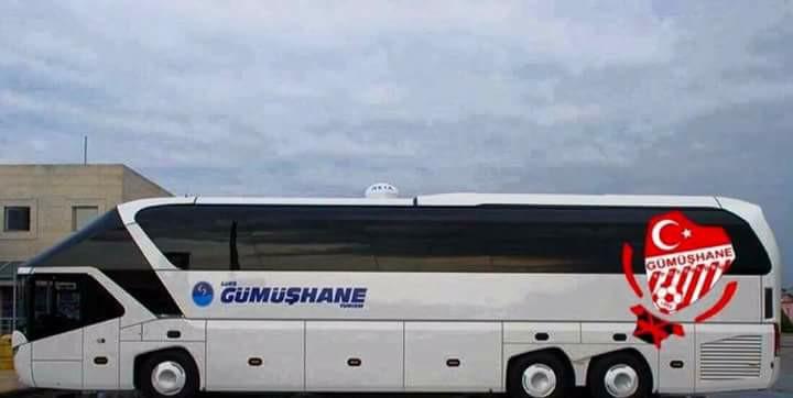 Gümüşhanespor'a kral otobüs
