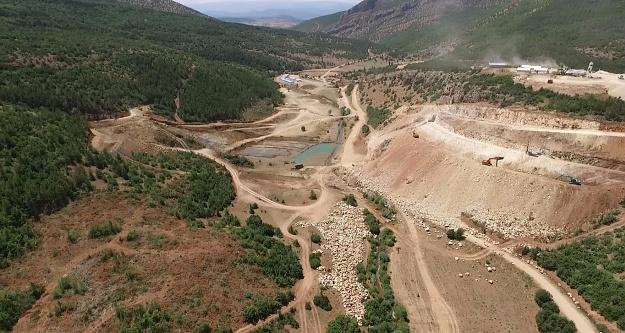 Tersun Barajında çalışmalar tüm hızıyla sürüyor