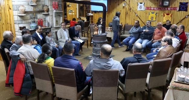 Gümüşhane'nin spor temsilcileri Zigana'da toplandı
