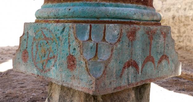 Süleymaniye'de ki Ermeni Kilisesinde ilginç motifler