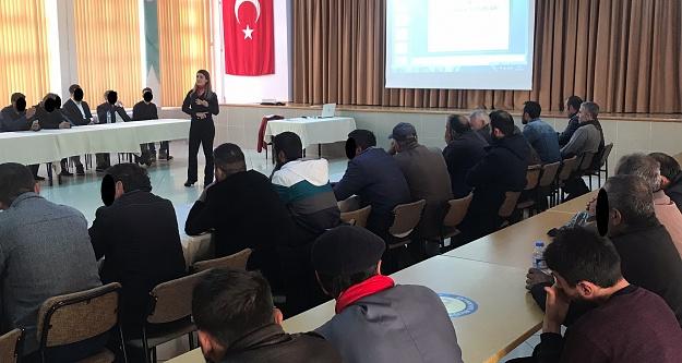 Yükümlülere iletişim semineri