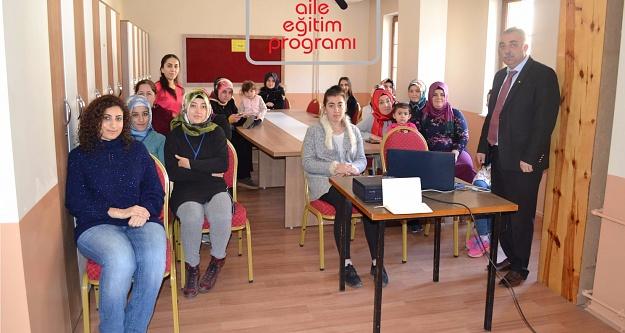 Gümüşhanede AEP kapsamında eğitimler devam ediyor
