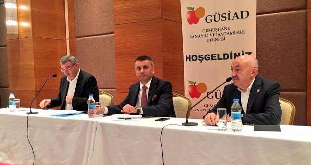 GÜSİAD Milletvekilleriyle çalıştay gerçekleştirdi