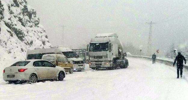 Ziganada kar yağışı etkili oluyor