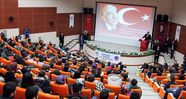 Türkeş, doğumunun 100. yılında GÜ'de anıldı