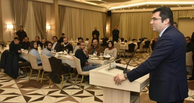 Gazeteciler ve İdareciler günü kutlandı