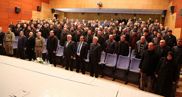 Jandarma'dan huzur ve güvenlik bilgilendirme toplantısı