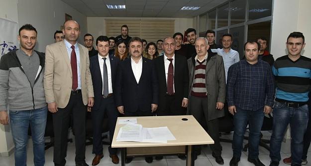 Kömürcü 2.kez başkan seçildi