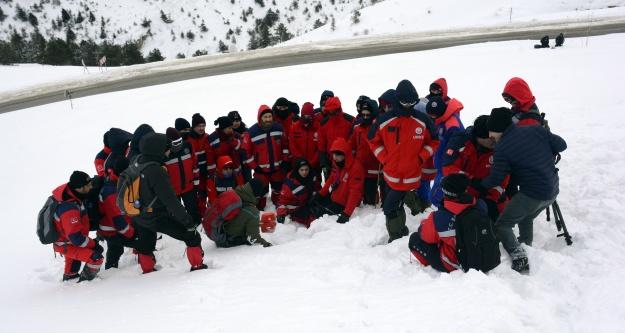 UMKE ekipleri Zigana Dağında eğitim ve tatbikat kampında