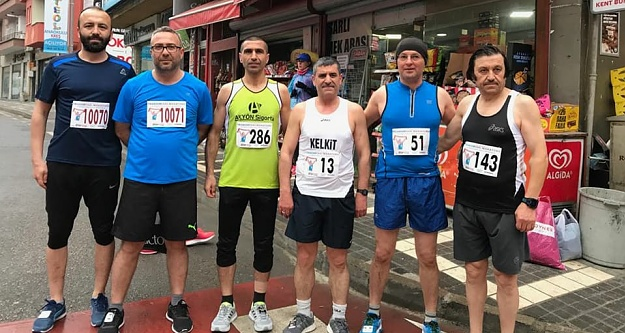 Gümüşhaneli atletler Şehit Eren için koştu