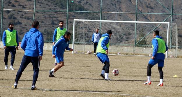Gümüşhanespor, Silivrispor maçının hazırlıklarını tamamladı