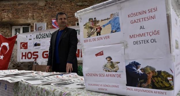 Köse#039;nin Sesi gazetesinden Afrin duyarlılığı