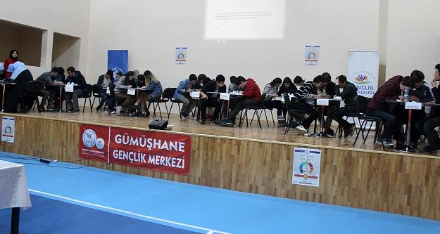 Gençlik Merkezinde 'Kim Bilir? bilgi yarışması yapıldı