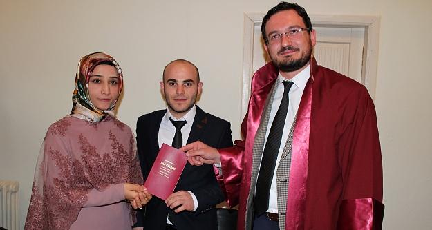 Gümüşhane'de müftüler ilk resmi nikahı Köse'de kıydı