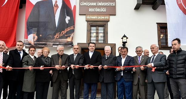 Gümüşhane Üniversitesinin Süleymaniye Mahallesi ofisi açıldı