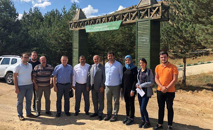 Köse Tabiat Parkının yapımına başlanıyor
