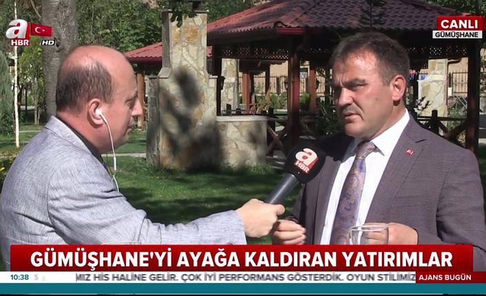 Başkan Çimen A Haber'e konuştu