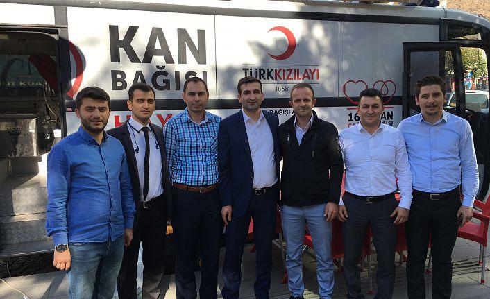Çoruh EDAŞ'dan kan bağışı kampanyası