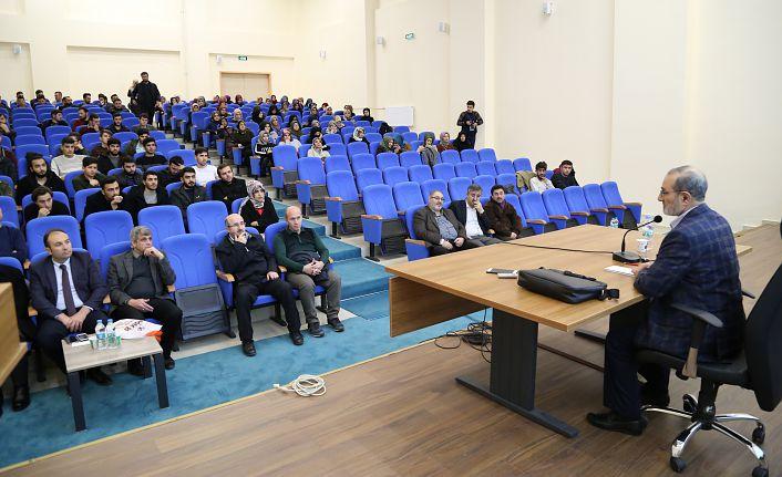 GÜ'de 'Kur'an'ın Anlaşılmasında Sünnetin Önemi' konferansı