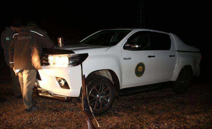 Gümüşhane'de gece 02'de kaçak avcılara suçüstü