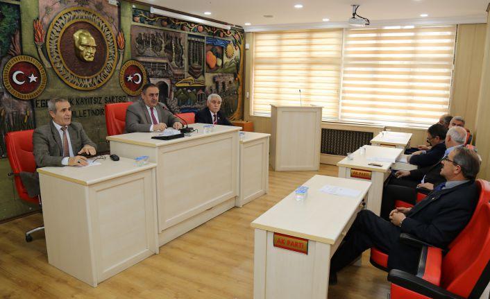 Gümüşhane İl Genel Meclisi'nin Aralık ayı toplantıları başladı