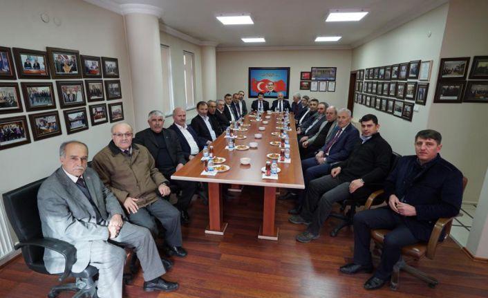 MHP heyetinden GSTO'ya ziyaret