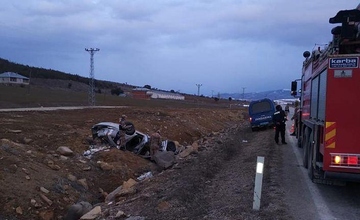 Belediye Başkan adayı kaza yaptı