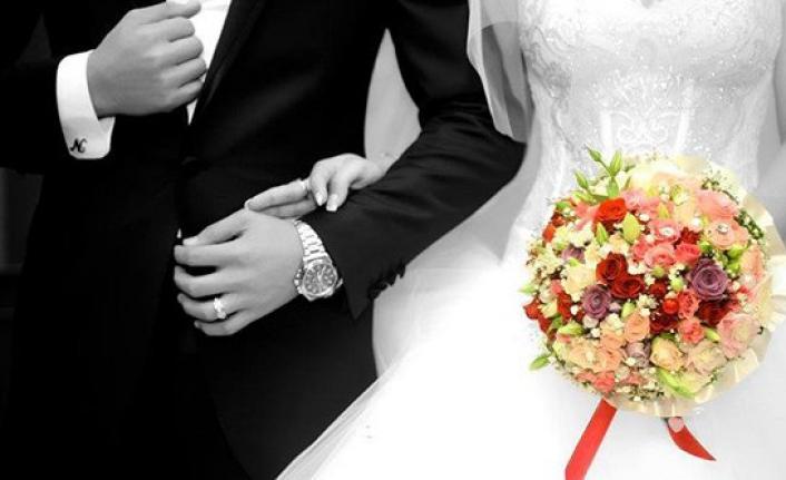 Türkiye'de kaba evlenme hızının en düşük olduğu il Gümüşhane