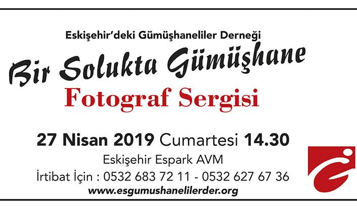 'Bir Solukta Gümüşhane' Eskişehir'de açılıyor