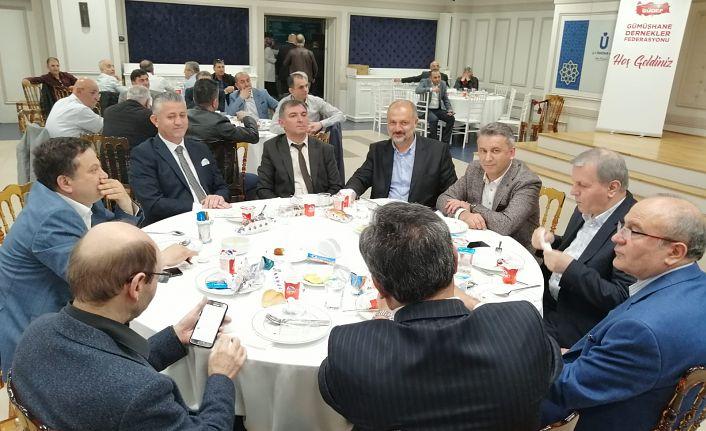 İstanbul'da Gümüşhaneliler GÜDEF'in iftar sofrasında buluştu