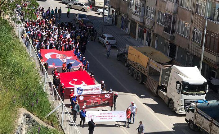 Milli Mücadele'nin yüzüncü yılı kutlamaları yürüyüşle başladı