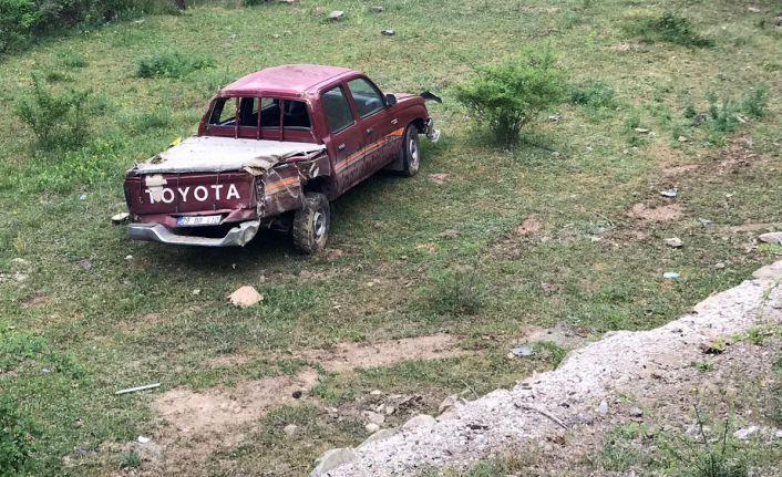 Muhtar kaza yaptı: 2 yaralı