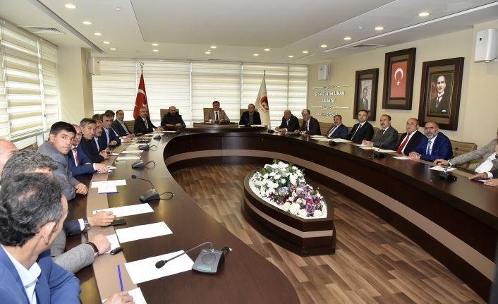 Yerel Yönetimler Birliği görev dağılımı yaptı