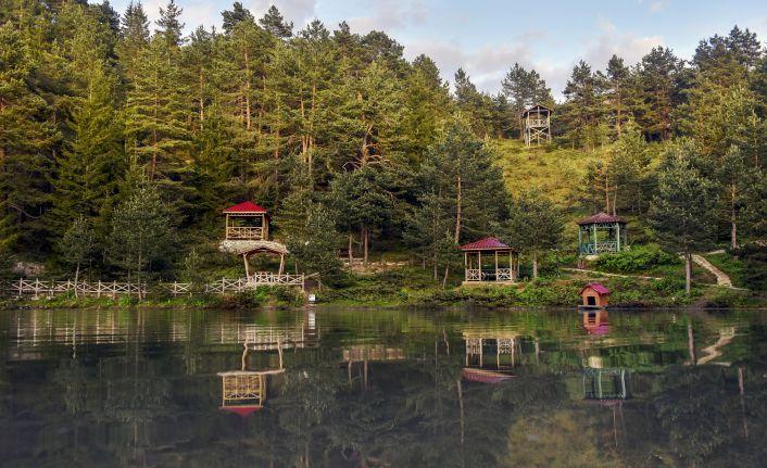 Gümüşhane'nin turizm mekanları bayram tatilinde doldu taştı