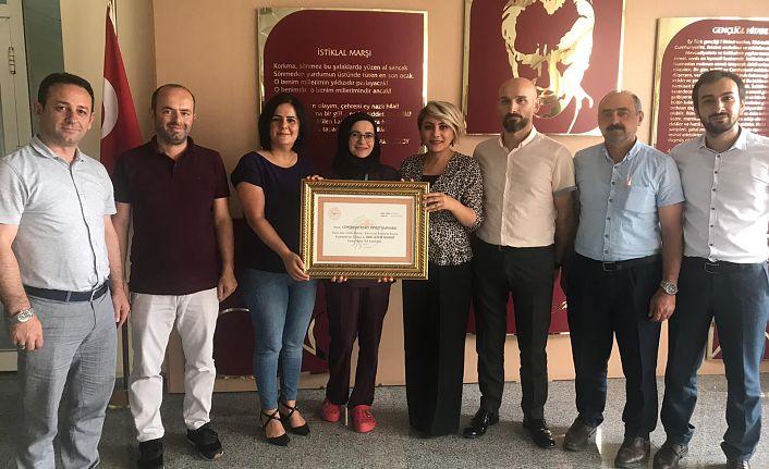 Kelkit ve Şiran Devlet Hastaneleri sertifikalarını aldı