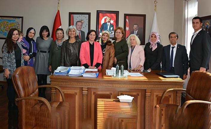 GTSO Kadın Girişimciler İcra Kurulu istişare toplantısı yaptı
