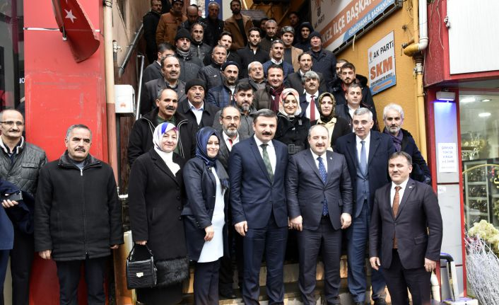 Bakan Varank AK Parti İl Başkanlığını ziyaret etti