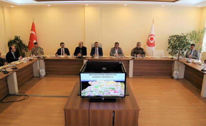 GÜ'de Güvenlik Koordinasyon Toplantısı Gerçekleştirildi