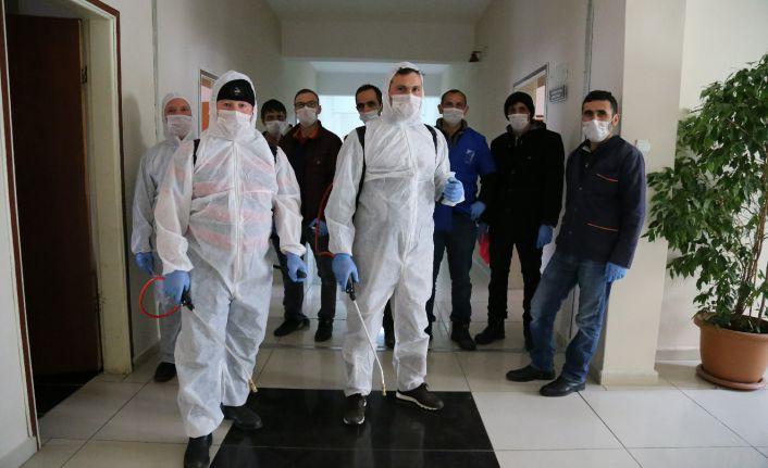 GÜ'de koronavirüse karşı mücadele devam ediyor