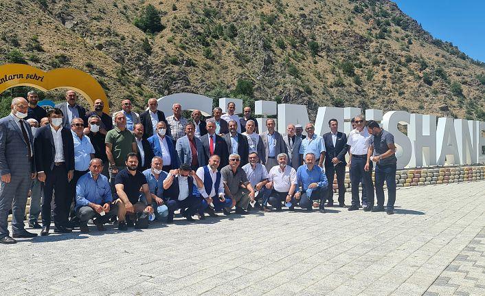 GÜDEF'in geleneksel bayramlaşma programı yapıldı