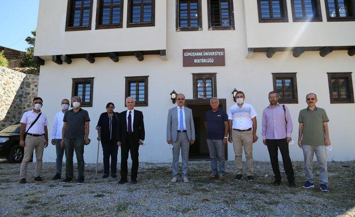 GÜ Yönetim Kurulu Toplantısı Süleymaniye'de gerçekleştirildi