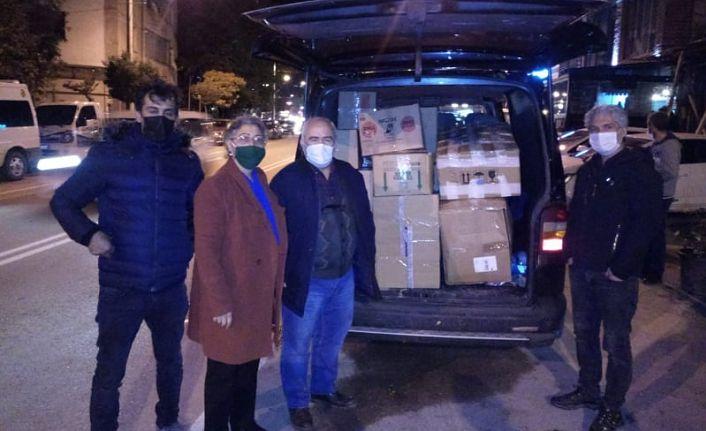 GÜDAP'tan İzmir'e yardım eli