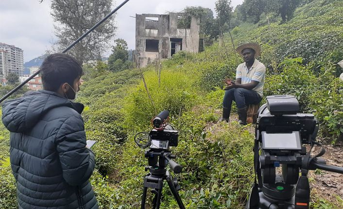 'Afrikalı Uşaklar' belgeseli tamamlandı