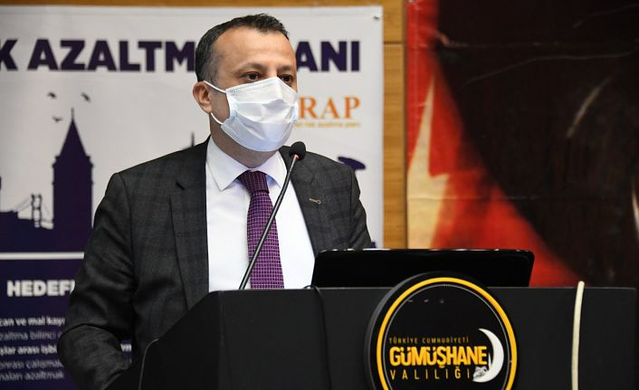 Gümüşhane'de İl Afet Risk Azaltma Planı (İRAP) Toplantısı Yapıldı