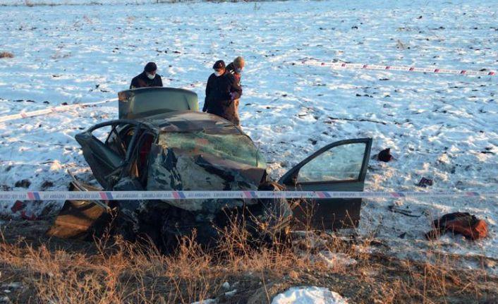 Kelkit'te feci kaza: 1 ölü, 2 yaralı