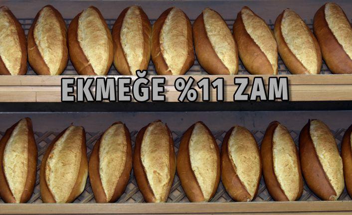 Gümüşhane'de ekmek zamlandı