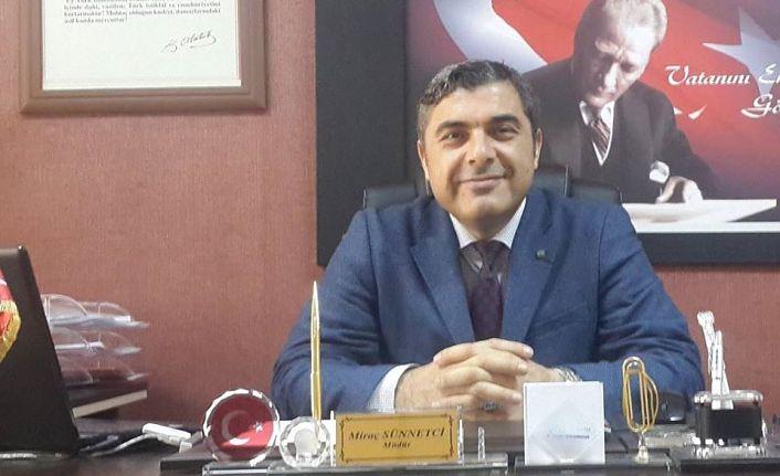 Gümüşhane'nin yeni İl Milli Eğitim Müdürü Miraç Sünnetçi oldu