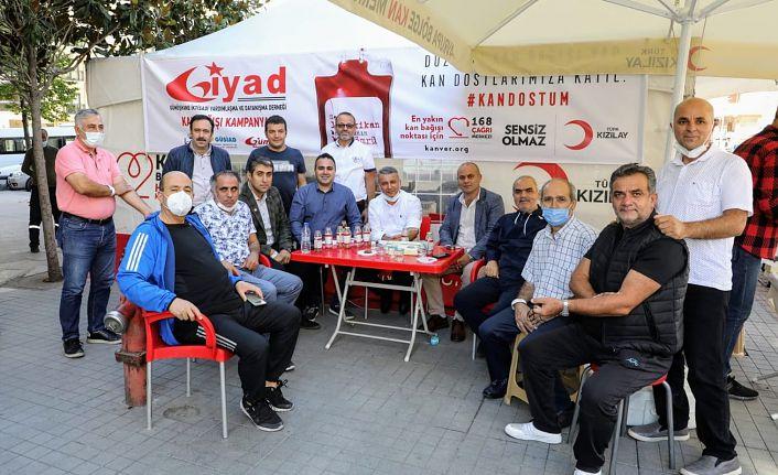Gümüşhanelilerden 104 ünite kan bağışı